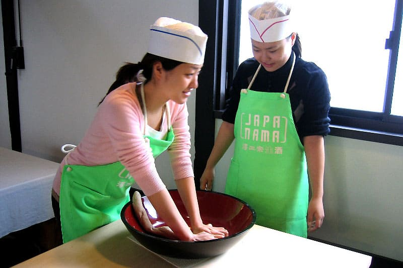 Hands-on Soba Making