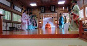 大嘗祭に合わせて、寒河江八幡宮でも大嘗祭当日祭を執り行いました