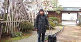 東京からダンディーな方がお越し下さいました。