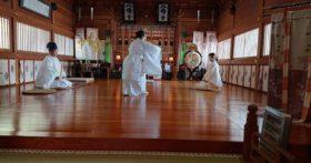 2月11日寒河江八幡宮で建国記念祭を開催しました