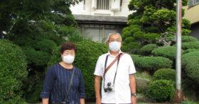福島から明るくて仲睦まじいご夫婦が資料館にお越し下さいました。