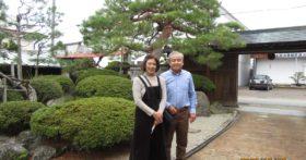 仲の良いご夫妻、東京からのお客様です