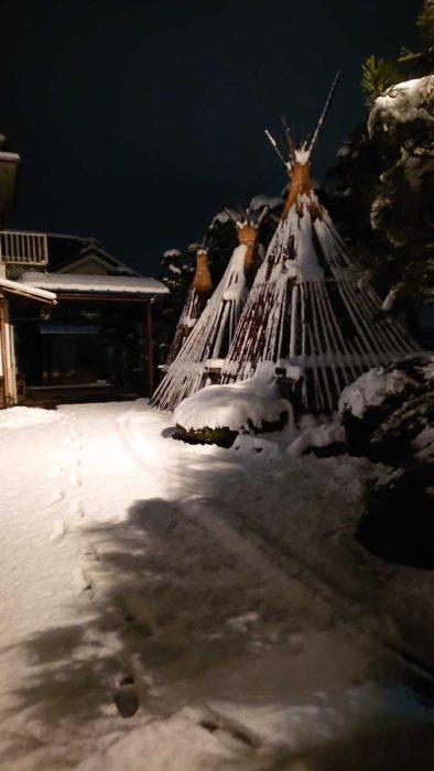 寒河江の初雪