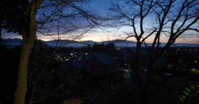 12月に入りめっきり朝の日の出が遅くなりました