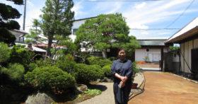 昨晩は「酒蔵澤正宗」へ、今日は「古澤酒造資料館」へお越し下さいました。