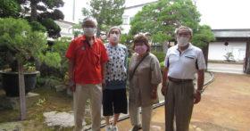 庄内から仲睦まじいご夫婦2組が古澤酒造資料館にお越し下さいました。