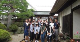 外国語専門学校の皆さんが古澤酒造資料館に研修にお越し下さいました。