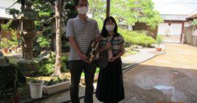 ご家族で古澤酒造資料館へのお越し下さいました。