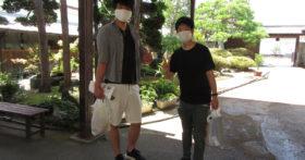 古澤酒造資料館に日本酒が大好きな好青年がお越し下さいました。